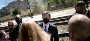 Start mit 328.000 Minuten Verspätung: Wie Pete Buttigieg die US-Bahn retten soll