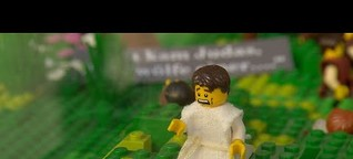 Ostergarten aus Lego