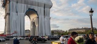 Christo-Verhüllung lockt auch die Pariser an