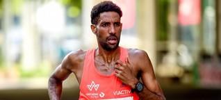 Marathonläufer Amanal Petros - Sportliche Höchstleistungen und Sorgen um die Familie
