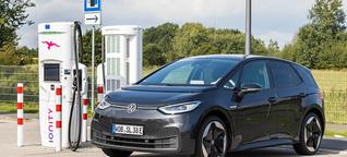 VW ID.3 Pure Performance im Fahrbericht mit Ladekurve - electrive.net