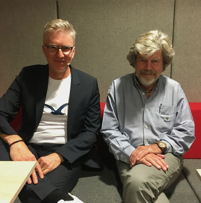 Moderation mit Reinhold Messner