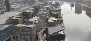 Klimaschutz: Amsterdam setzt auf grünes Wohnen