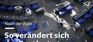 So verändert sich der Bundestag