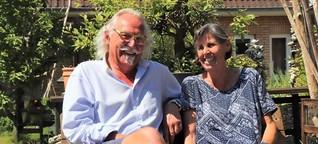 Serie Sylter Gärten: Bei Mary und Thomas steht eine Düne auf dem Grundstück | shz.de