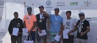 Windsurf-Cup auf Sylt: Sebastian Kördel holt Doppelsieg bei den Deutschen Meisterschaften | shz.de