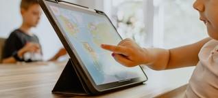 Wie lange dürfen Kinder vor einem Bildschirm sitzen?