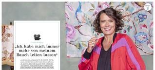 """Ulrike Folkerts: """"Ich habe mich immer mehr von meinem Bauch leiten lassen"""""""