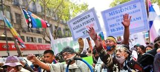Indigene Gemeinschaften in Argentinien fordern Recht auf Land ein