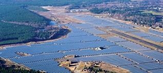 Agrarfläche vs. Solarpark